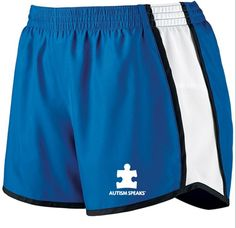 ATTENTION ALL ACTIVE LADIES: check out these Autism Speaks shorts! http://shop.autismspeaks.org