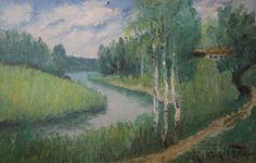 Kalle Aaltonen: Maisema, öljymaalaus Painting, Art, Art Background, Painting Art, Kunst, Paintings, Performing Arts, Painted Canvas, Drawings