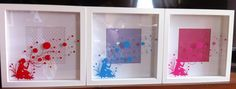 Daydreamer Box Frame, available in different colours £14.95 each