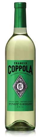 Coppola wines pinot grigio pairs excellently with gluten free four cheese ravioli