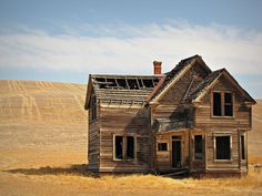 Oregon of yester-years... the ghost towns on today! Boyd is a ghost town in Wasco County, Oregon, United States, disincorporated in 1955.