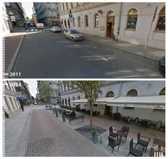 SHARED STREETS - Streets where pedestrians and cars share the same space…