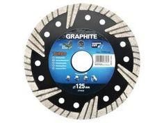 Graphite Graphite 57H630 Diamantschijf 230x22x6,0x3,1mm, Turbo, MPA EN13236