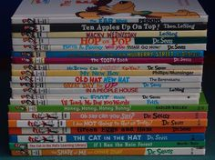 Lot of 21 Beginner / Bright and Early books Dr. Seuss hardcover