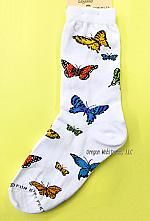 Colorful Butterfly Socks