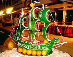 Watermelon Food Sculpture Carvings.