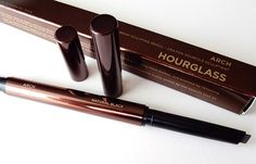 Hourglass Arch Brow Sculpting Pencil Review and Demo - Shade Natural Black
