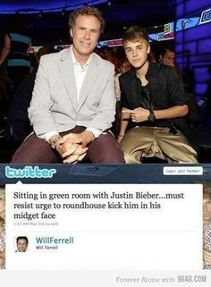 hahahaha (I think thats the first time I've found Will Ferrell funny)