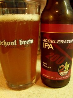 2 Row Brewing Accelerator IPA 7%abv, Its pretty good