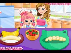 Baby Alice Chef, Baby Cooking, Baby plays a chef - Kids Games for Girls