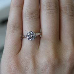 Verragio Clic V 939 R7 0 10ctw Diamond Engagement Ring Mounting Estate