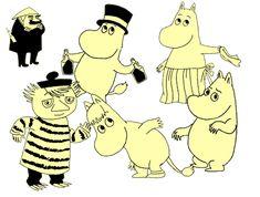 iimono:    Moomin party