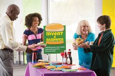 "Looking for a science-themed activity for your Grand Event? Try an ""invent a sandwich"" bar. Just be prepared for some crazy concoctions!    Check out your Book Fair Chairperson Toolkit for more tips and tricks."