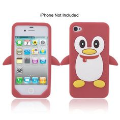 Find amazing iPhone 7 Case, JAHOLAN Amusing Whimsical Design Clear Bumper TPU Soft Case Rubber Silicone Skin Cover for iPhone 7 - Penguin Fly penguin gifts for your penguin lover. Iphone 7 Cases, Penguins, Phone Accessories, Apple Iphone, Red And White, Whimsical, Cover, Gifts, Photos