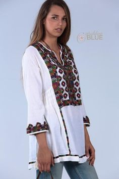 GYPSY Tunic embroidered