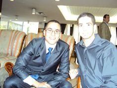 Nassim Hartani et Moumen Taleb
