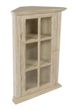 Corner Cabinet Glass Front Display