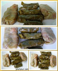 Sarma (stuffed grape leaves)