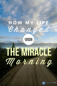 I was elated to have Hal on the podcast to share his journey and what inspired him to start a morning routine.
