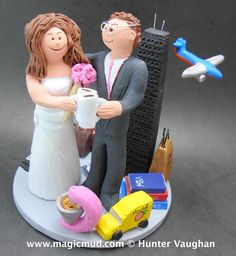 Our Honeymoon Plan Wedding Cake Topper by www.magicmud.com $250 1 800 231 9814 mailto:magicmud@m... blog.magicmud.com twitter.com/... www.facebook.com/... #honeymoon#airplane#plane#pilot#wedding #cake #toppers #custom #personalized #Groom #bride #anniversary #birthday#weddingcaketoppers#cake toppers#figurine#gift#wedding cake toppers