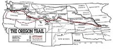 The Oregon Trail, one of the key migration routes to the American West, spanned over miles. Us History, Family History, American History, Native American, Pioneer Life, Pioneer Trek, Pioneer Camp, Texas And Oklahoma, Kansas City