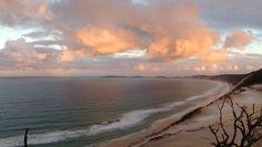 Sunset @ Rainbow beach - Australia.