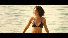 Furious 7 Beach Bikini Scene HD,Nathalie Emmanuel