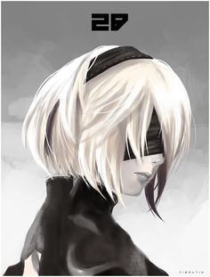My take on 2B from Nier Automata.
