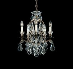 Schonbek Renaissance/Versailles 5 Light Mini-Chandelier