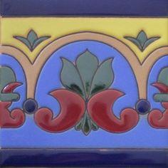 Mexican tile border
