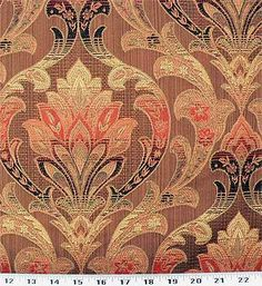 Pretty!  For TV room curtains...  But not cheap!  Busy pattern..  Would want as a bottom of a solid..