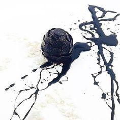 """Deathstar"" with truffle malto and truffle reduction by @shergatt #TheArtOfPlating"