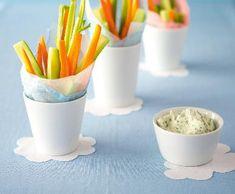 Zeleninové hranolky s lučinovým dipem | Recepty Albert