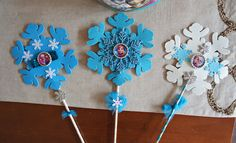 Olivia Paige  Frozen Wands  Stars  Anna by OliviaPaigeClothing, $12.00