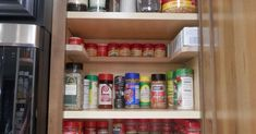 Just Say NO to As Seen On TV Spicy Shelf Organizer..and YES to DIY!!! - Depending on the size of your cabinet, you can get 2-4 of these DIY spice shelves for ar