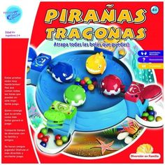 Juguete PIRAÑAS TRAGONAS Precio 9,49€ en IguMagazine #juguetesbaratos