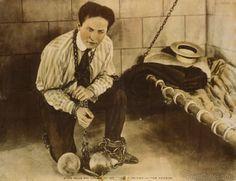 Harry Houdini Locked in Prison. 1898