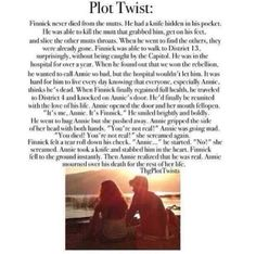 That's an awful plot twist  :'(  - Mockingjay
