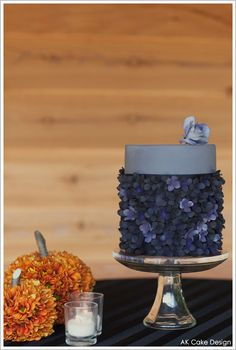 Half Baked – The Cake Blog » Autumn Blooms Cake