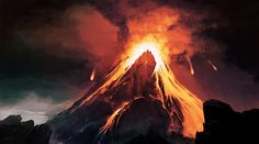 Mt Doom by thiago-almeida on deviantART