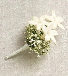 "Order Embraceable Boutonniere flower arrangement from ""Original"" Heroman's Florist, your local Baton Rouge, LA florist. Send Embraceable Boutonniere floral arrangement throughout Baton Rouge, LA and surrounding areas. Babys Breath Boutonniere, Boutonnieres, Orchid Boutonniere, Groom Boutonniere, Gypsophila Wedding, Wedding Bouquets, Wedding Centrepieces, Corsage Wedding, Button Holes Wedding"