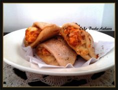 Calzone Pockets | An Italian Snacks ~ Esho Bosho Aahare