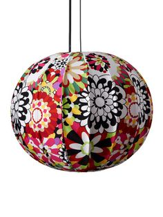 Suspension Bubble Vevey 59 by Missoni Home - Lustres Design Missoni, Lustre Design, Hippy Room, Vevey, Suspension Design, Paper Lanterns, Pendant Lamp, Girls Bedroom, Decorating Your Home