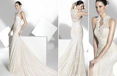 2013 wedding dress Franc Sarabia bridal gowns Spanish designers 21