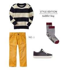 with an i.e.: Style Edition No.1: toddler boy