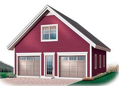 Garage Plan With Free Materials List