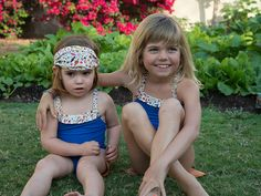 Sweet swimsuits for little girls from @poupettealaplage #pnapproved