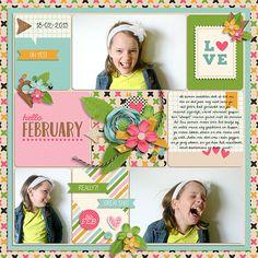 Hello february - Scrapbook.com
