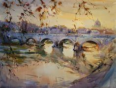Laurentino Marti, 1946 ~ Watercolor painter | Tutt'Art@ | Pittura * Scultura * Poesia * Musica |