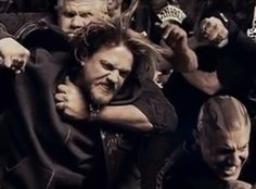"""sons of anarchy juice brawl pictures   Sons of Anarchy : New Promo Teases Explosive """"Mayhem"""" for Jax in ..."""